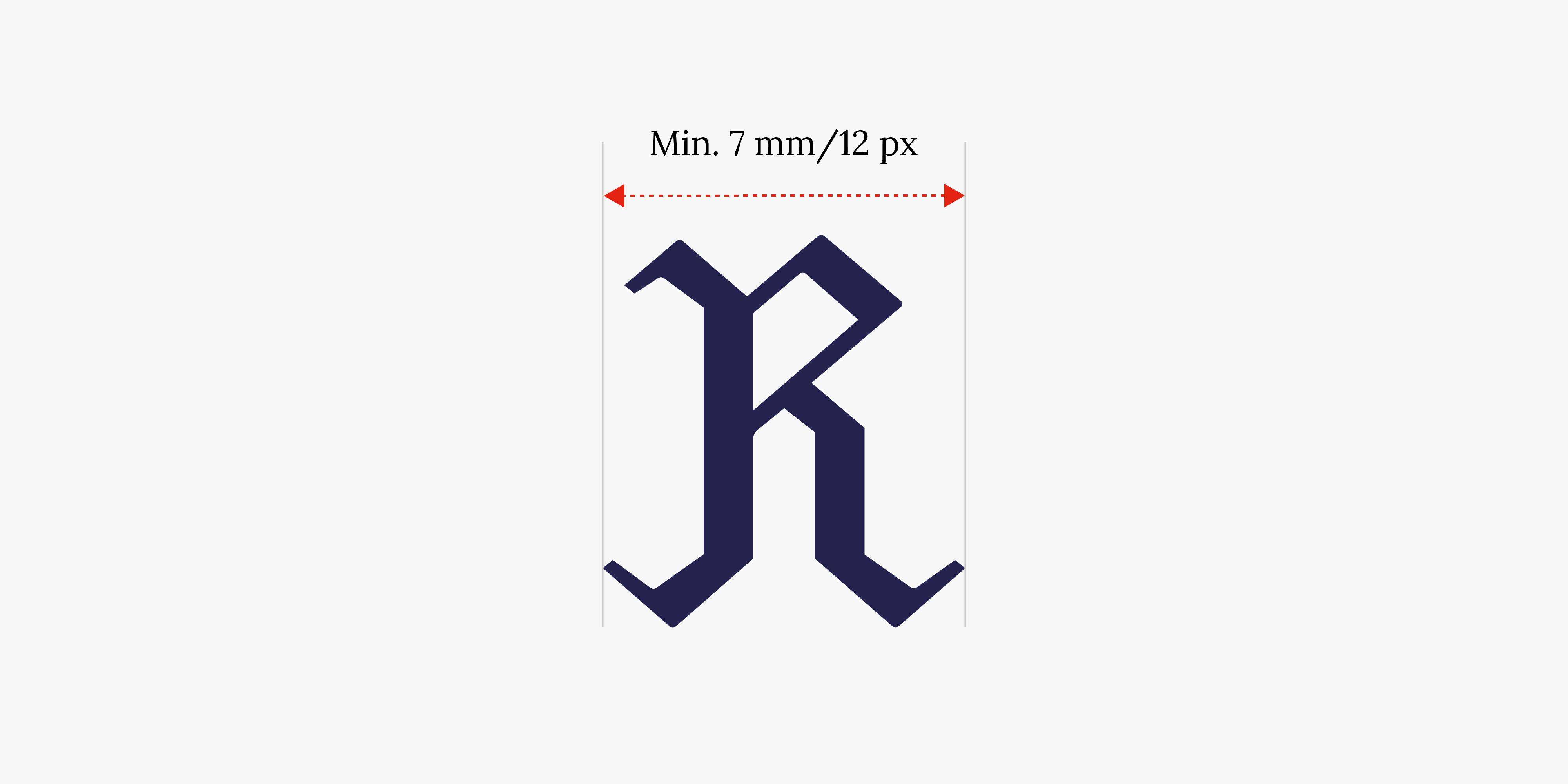 R-merkki minimikoko