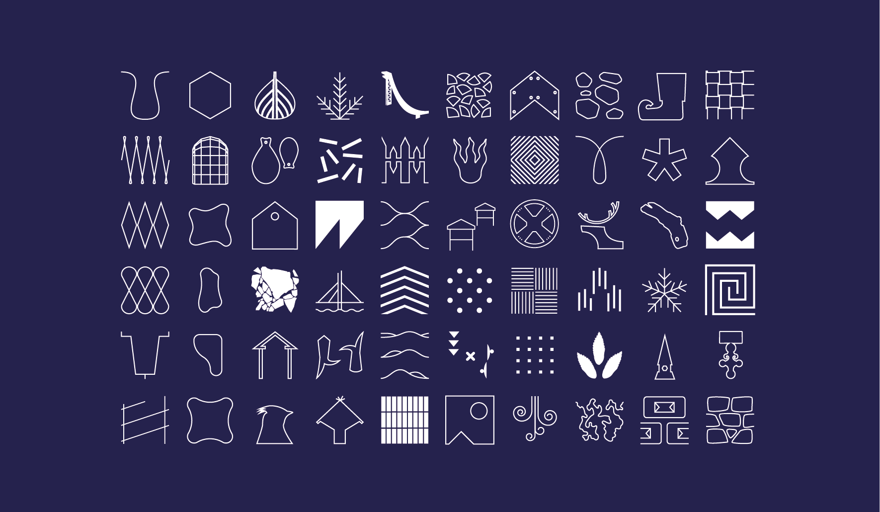 Rovaniemi-symbolit
